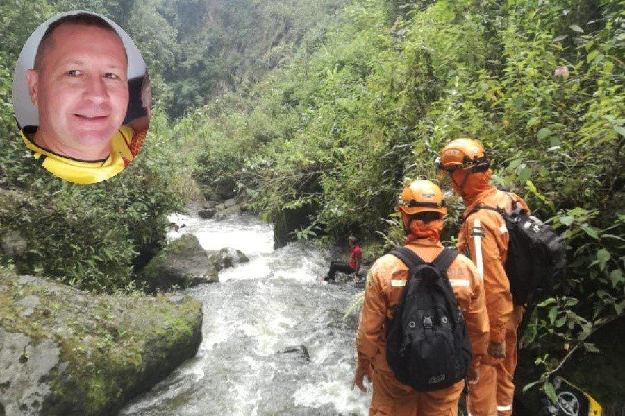 Autoridades y organismos de socorro buscan a un hombre desaparecido en el Cañón del Combeima - Ecos del Combeima