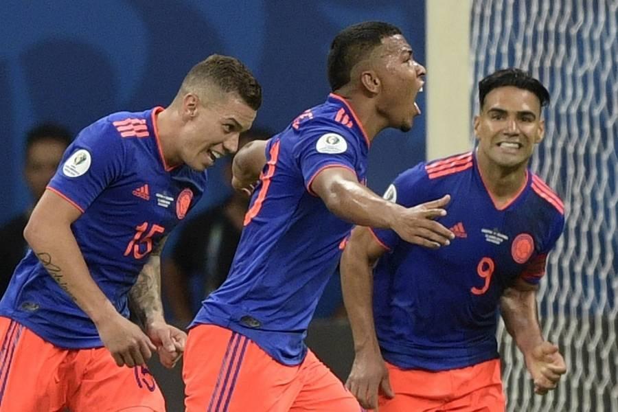 Goles de la Selección Colombia en Copa América