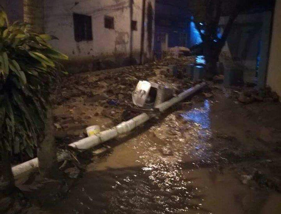 Avalancha en Girardot deja un desaparecido y unas 18 viviendas afectadas