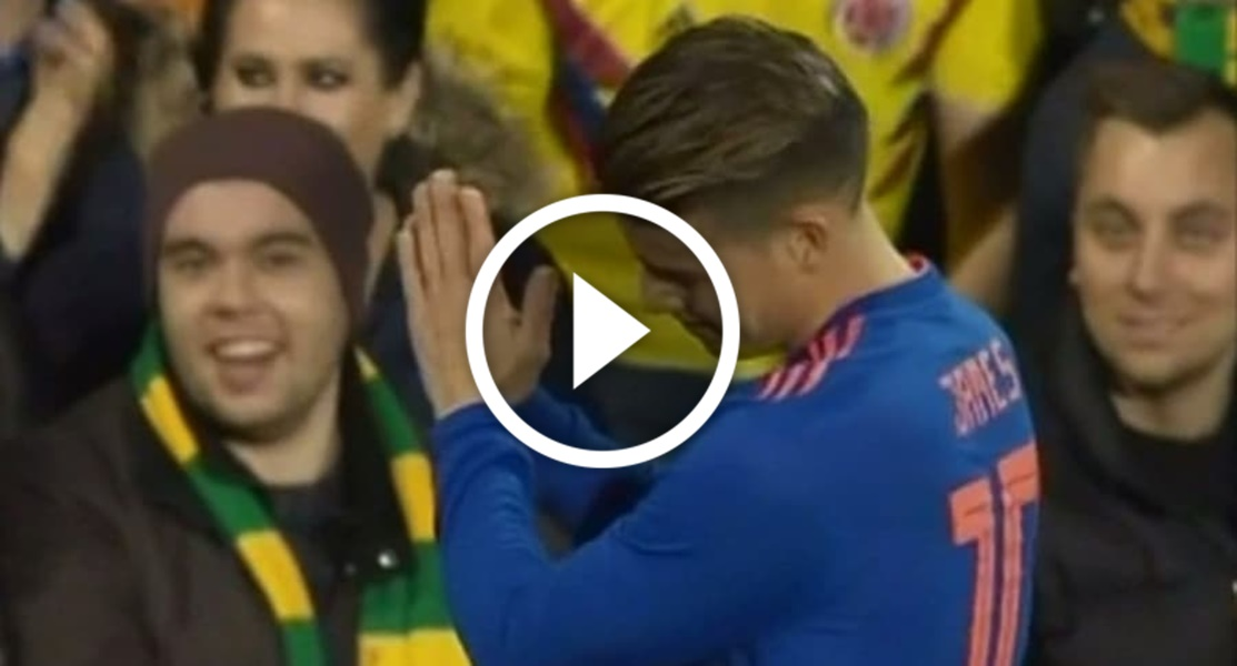 Video y resumen del partido — Colombia vs Australia
