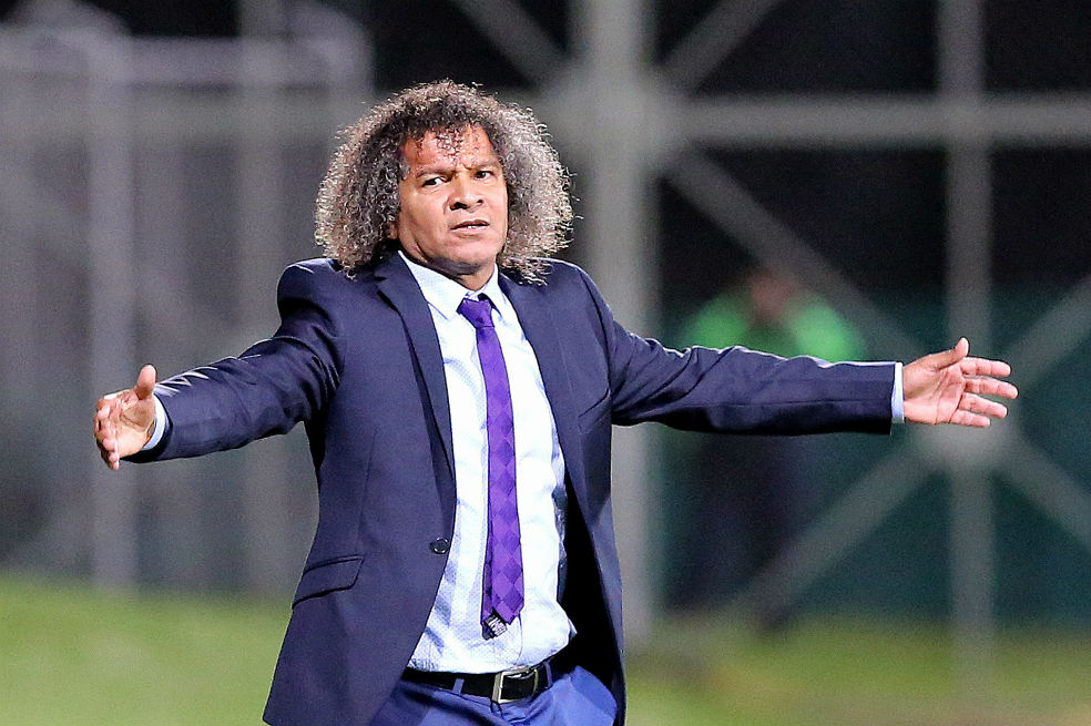 Alberto Gamero, técnico del Deportes Tolima, 2018.