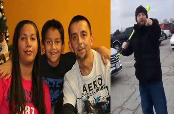 Hombre ataca con bat a familia hispana que hablaba español