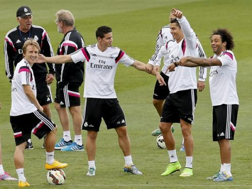 Real Madrid: cabezazo de Benzema que dio el triunfo ante Lisboa