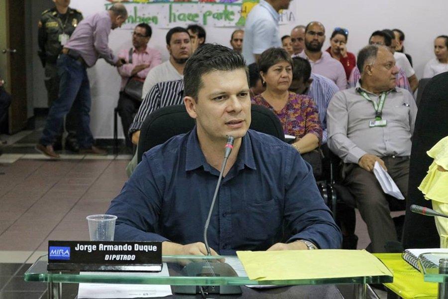 Jorge Armando Duque, diputado del MIRA HD