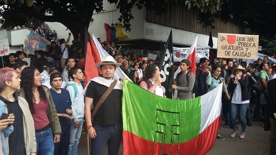 Manifestación UT estudiantes