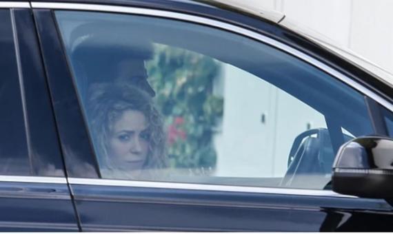 Shakira y Gerard Piqué se pelean delante de sus hijos