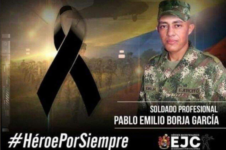 Soldado tolimense murió en atentado del ELN