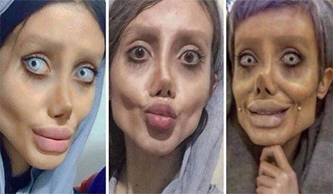 Joven cambia drásticamente su aspecto para parecerse a actriz