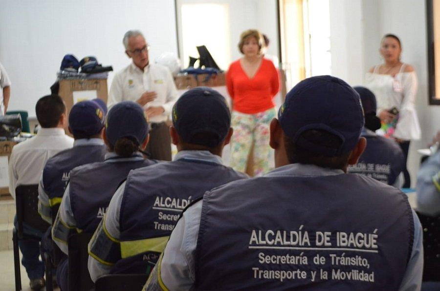 Agentes de Tránsito Ibagué