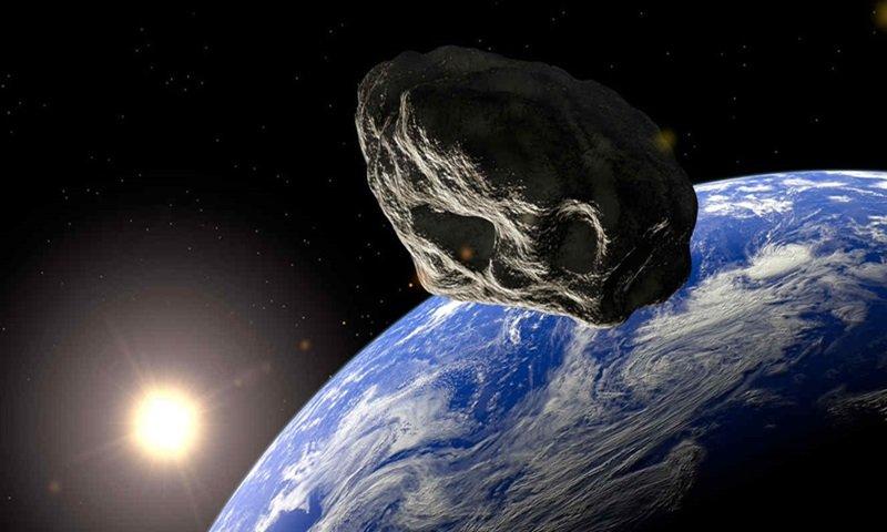 NASA: Se acerca a la tierra un asteroide