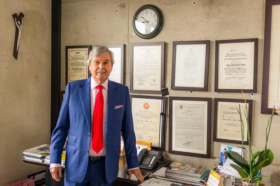 Carlos Alberto Barberi, Presidente de Prabyc