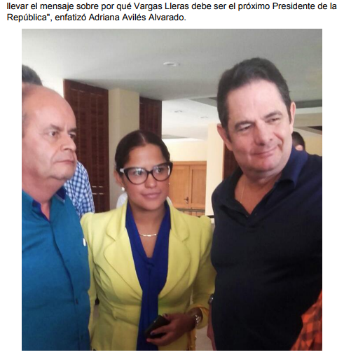 Germán Vargas se inscribirá por firmas