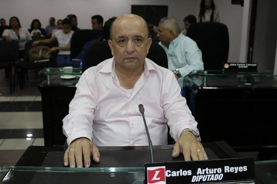 Carlos Reyes, diputado Tolima, HD 13 DE JUNIO
