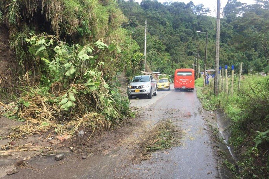 Lluvias en Ibagué