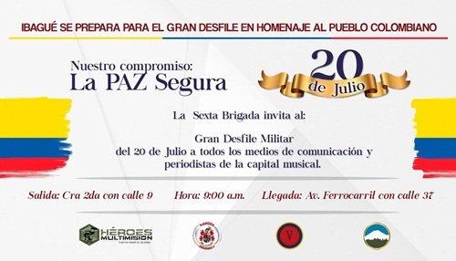 La Guajira celebra los 207 años de Independencia de Colombia