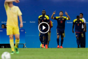 Río 2016 | En video: Colombia 2-2 Suecia
