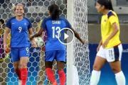 En video: Colombia 0-4 Francia | Río 2016