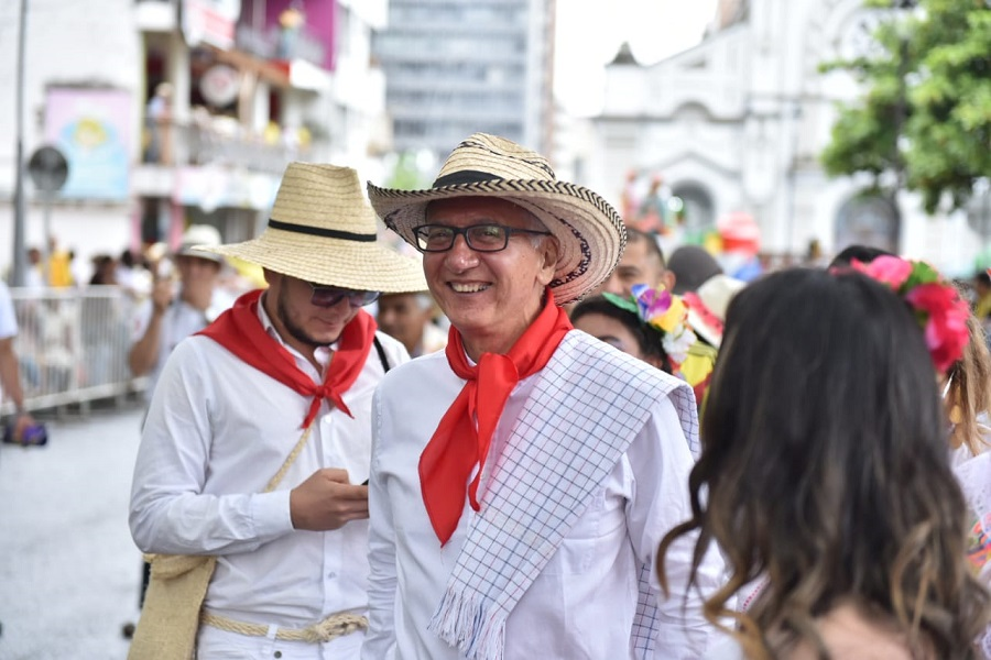 Guillermo Alfonso Jaramillio, Corposanjuan, fiestas Ibagué