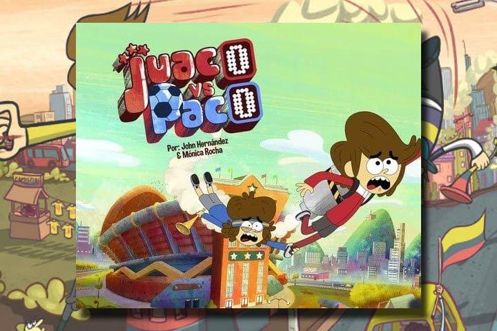 """""""Juaco vs. Paco"""", de Colombia para Cartoon Network"""