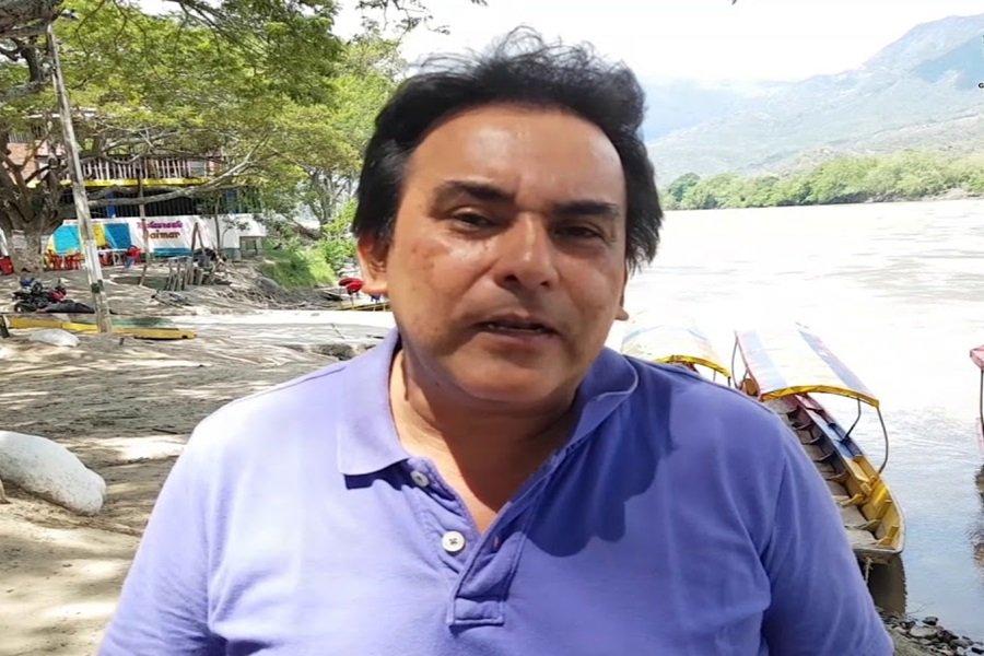 Juan Carlos Chavarro,, alcalde de  Ambalema