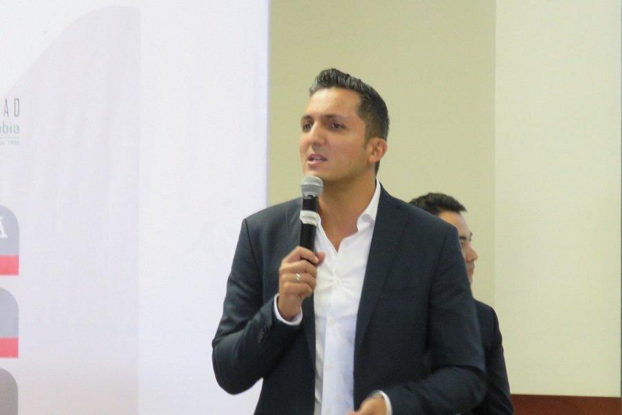 Juan Pablo Gallo alcalde de Pereira, Foro de impuestos y competitividad empresarial Ecos del Combeima