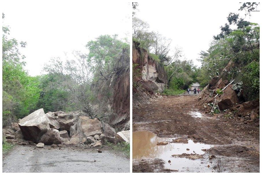 Recuperación vías lluvias en Ambalema