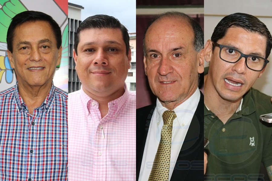 HD- Concejal Camilo Delgado, Diputado Milton Restrepo, Jaime Ospina, Diputado Álvaro Ramírez,
