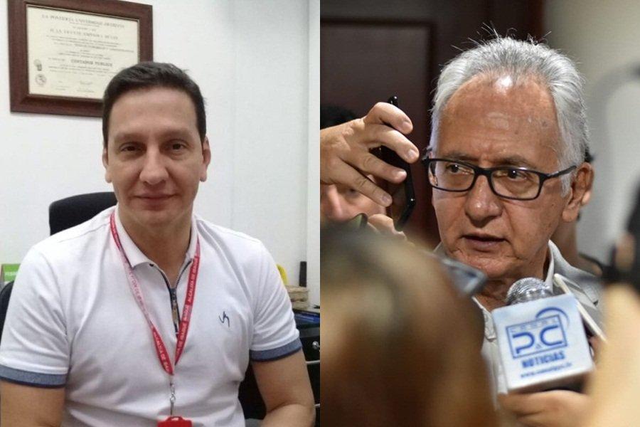 HD- alcalde Jaramillo y secretario de Hacienda, Juan Espinosa- 10 de enero