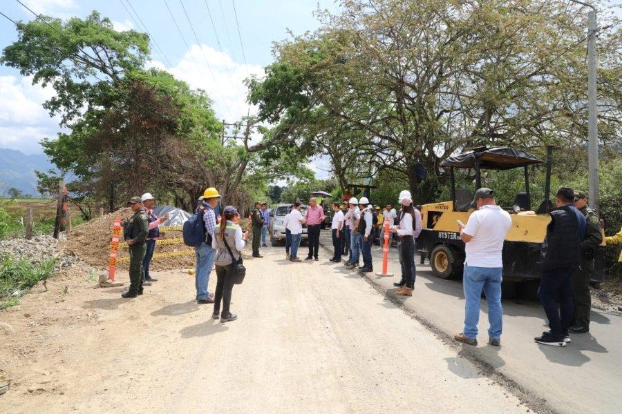 Adjudicada licitación para pavimentar la segunda etapa de la vía Ibagué – Rovira - Ecos del Combeima