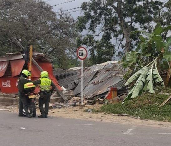 Autoridades investigan las causas de un aparatoso accidente en la madrugada del domingo