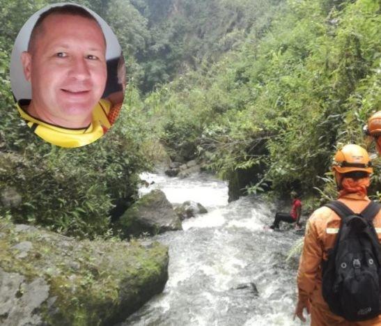 Autoridades y organismos de socorro buscan a un hombre desaparecido en el Cañón del Combeima