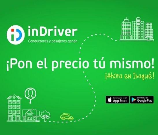 inDriver llega a revolucionar el servicio de transporte en Ibagué
