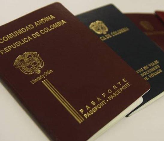 El pasaporte en el Tolima quedó en 199 mil 500 pesos