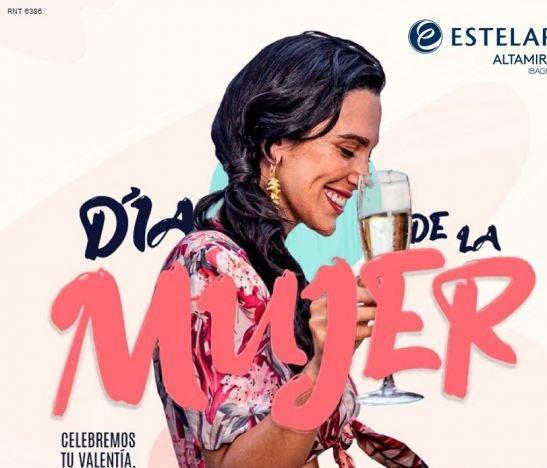 Celebra este domingo 7 de marzo el Día de la Mujer en el Hotel Estelar