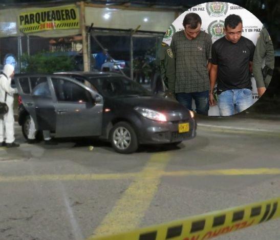 Capturaron a los sicarios que dispararon anoche contra una mujer