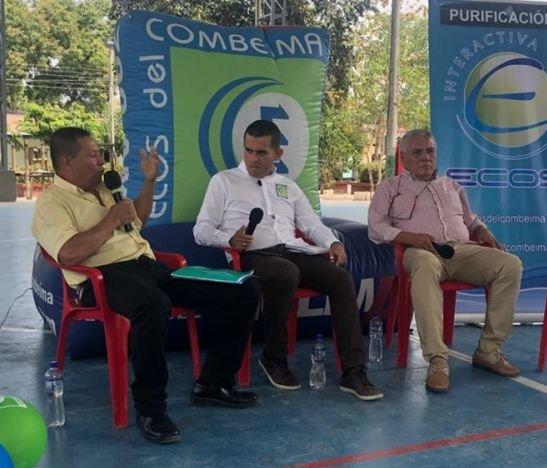 Ecos del Combeima llegó a Purificación con los 'Grandes Debates Regionales Econoticias 49 años'