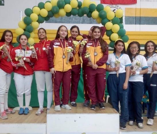 Destacada participación de la Liga de Esgrima del Tolima en Tocancipá