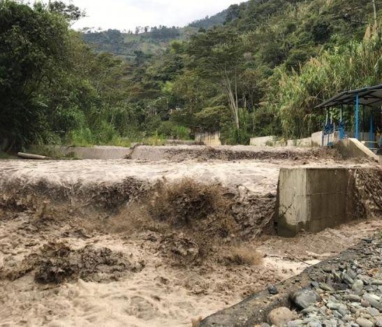 Grave situación de emergencia sacude al Cañón del Combeima en Ibagué