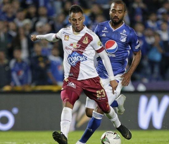 Deportes Tolima enfrenta esta tarde a Millonarios en Ibagué