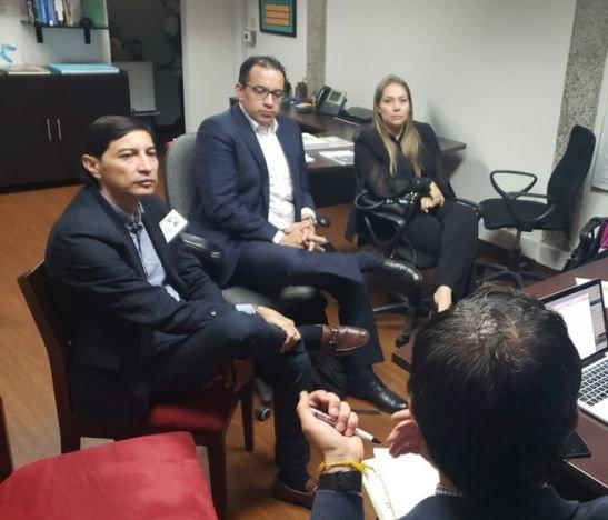 Andrés Fabián Hurtado continúa los acercamientos con el gobierno del presidente Duque