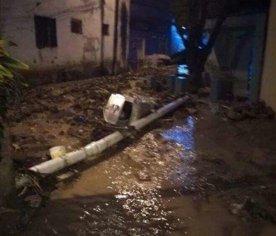 Avalancha en Girardot dejó un desaparecido y al menos 18 viviendas afectadas