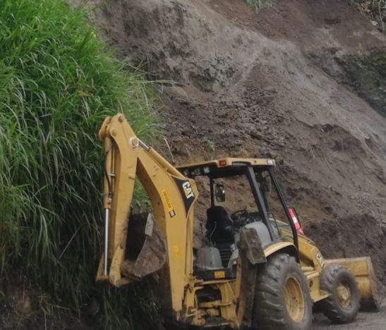Permanece la alerta en el sector de La Vega por posibles deslizamientos