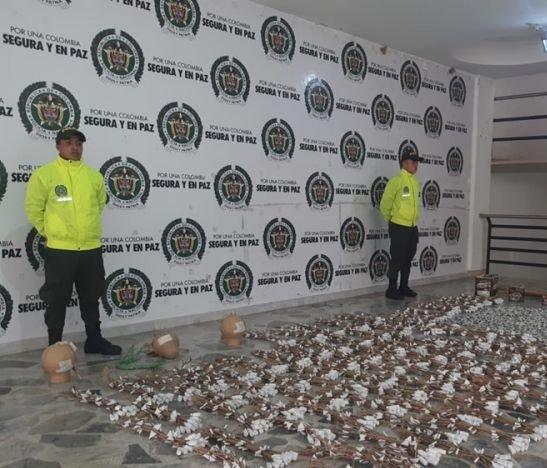 Se conocen detalles sobre la incautación de más de 80 kilos de pólvora en Picaleña