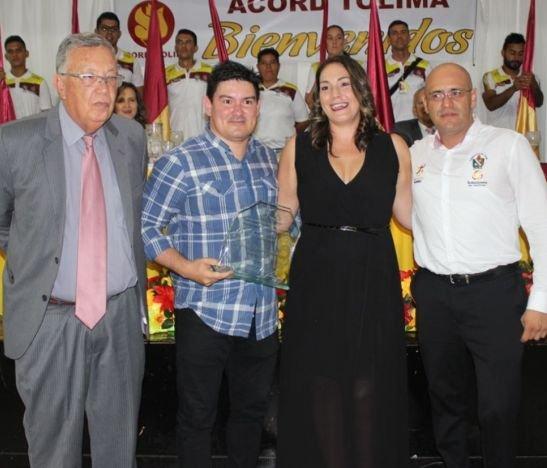 ACORD Tolima celebró anoche el 'Deportista del Año 2017'