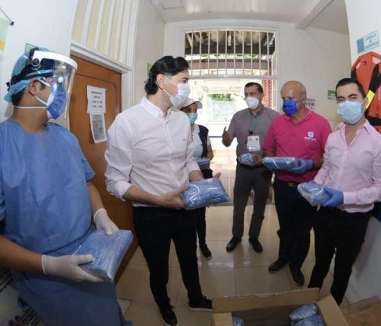 Empresa privada en Ibagué continúa contribuyendo a la salud en medio de la cuarentena