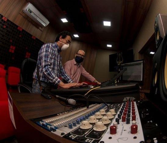 Conservatorio del Tolima buscará que Santiago Cruz grabe en sus nuevos laboratorios