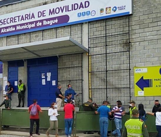 Secretaría de Movilidad de Ibagué nuevamente suspende atención al público por labores de limpieza