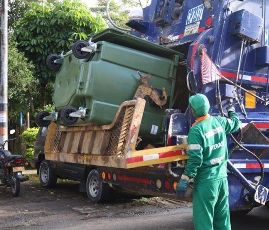 Entraron en funcionamiento 30 contenedores para correcta disposición de basuras en el Jordán