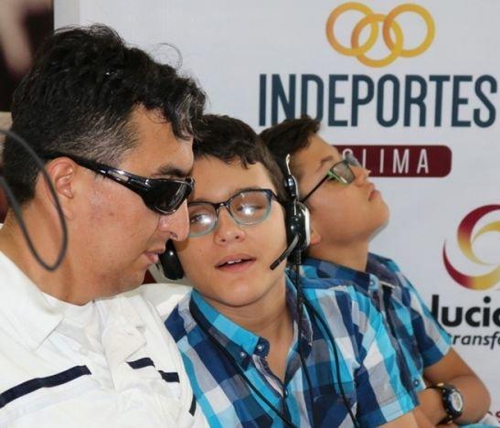 La Liga de Limitados Visuales del Tolima recibió 'jugosa' implementación deportiva