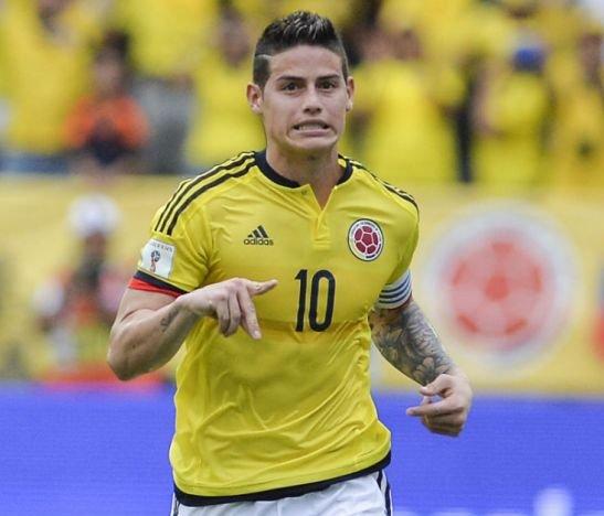 James Rodríguez, la incógnita para el debut de la Selección Colombia en el Mundial